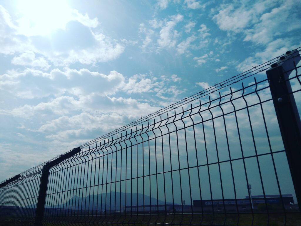 security barrier pannels